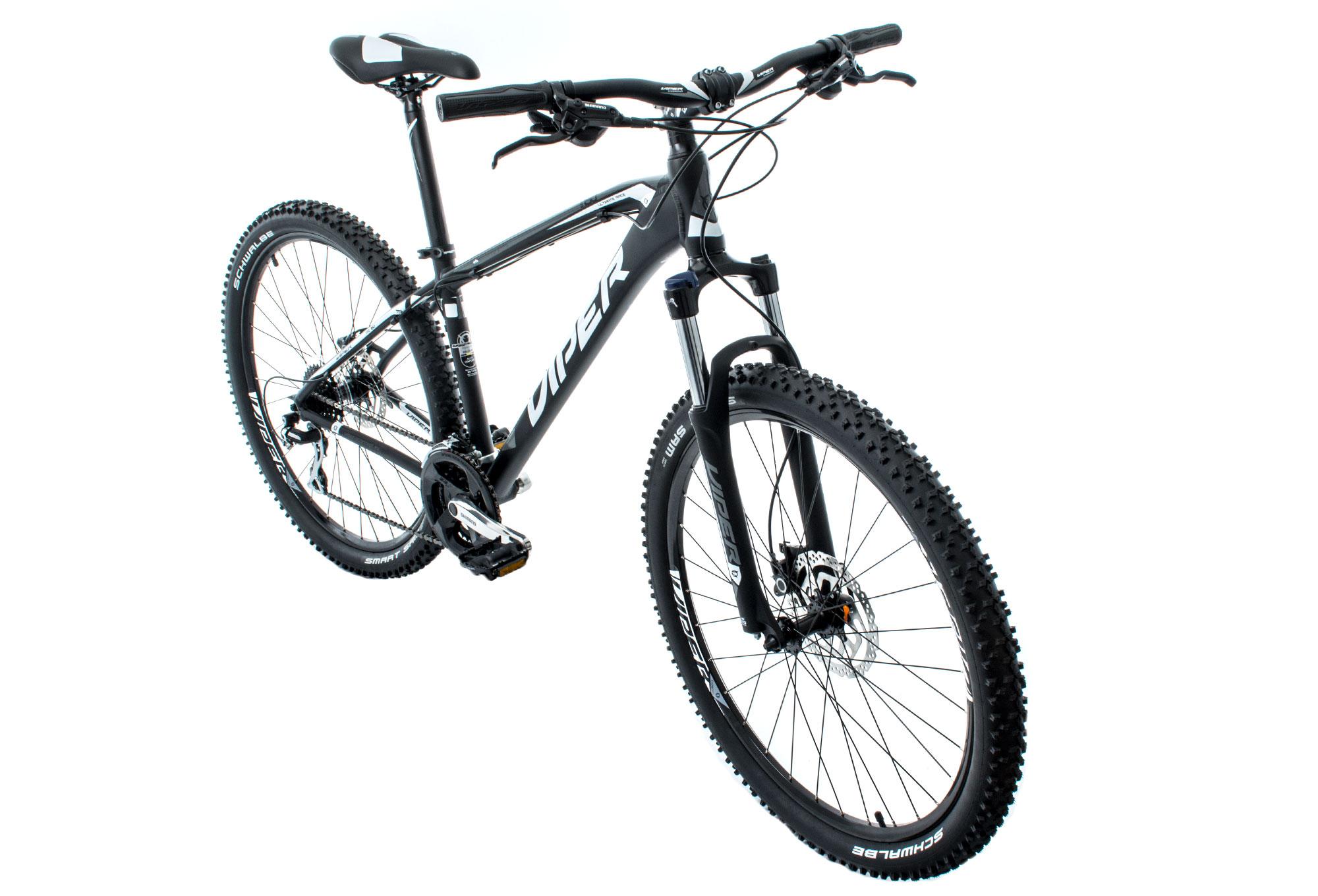 VIPER 2016 MTB Bike TR150 27.5'' 8 Speed Black Grey