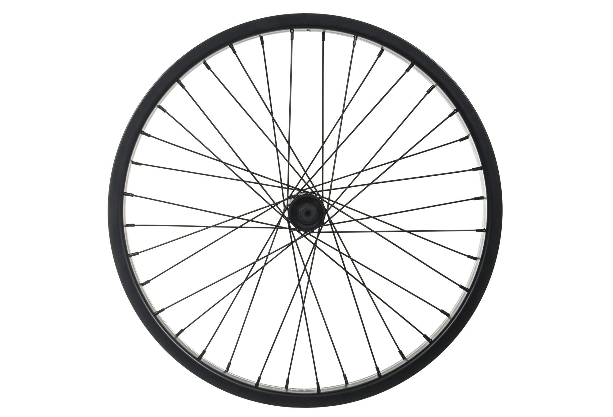 Fiend Cab Flangeless Front Wheel Black