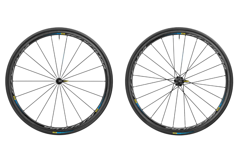 MAVIC Wheelset Ksyrium Pro Carbon SL T HAUTE ROUTE EDITION