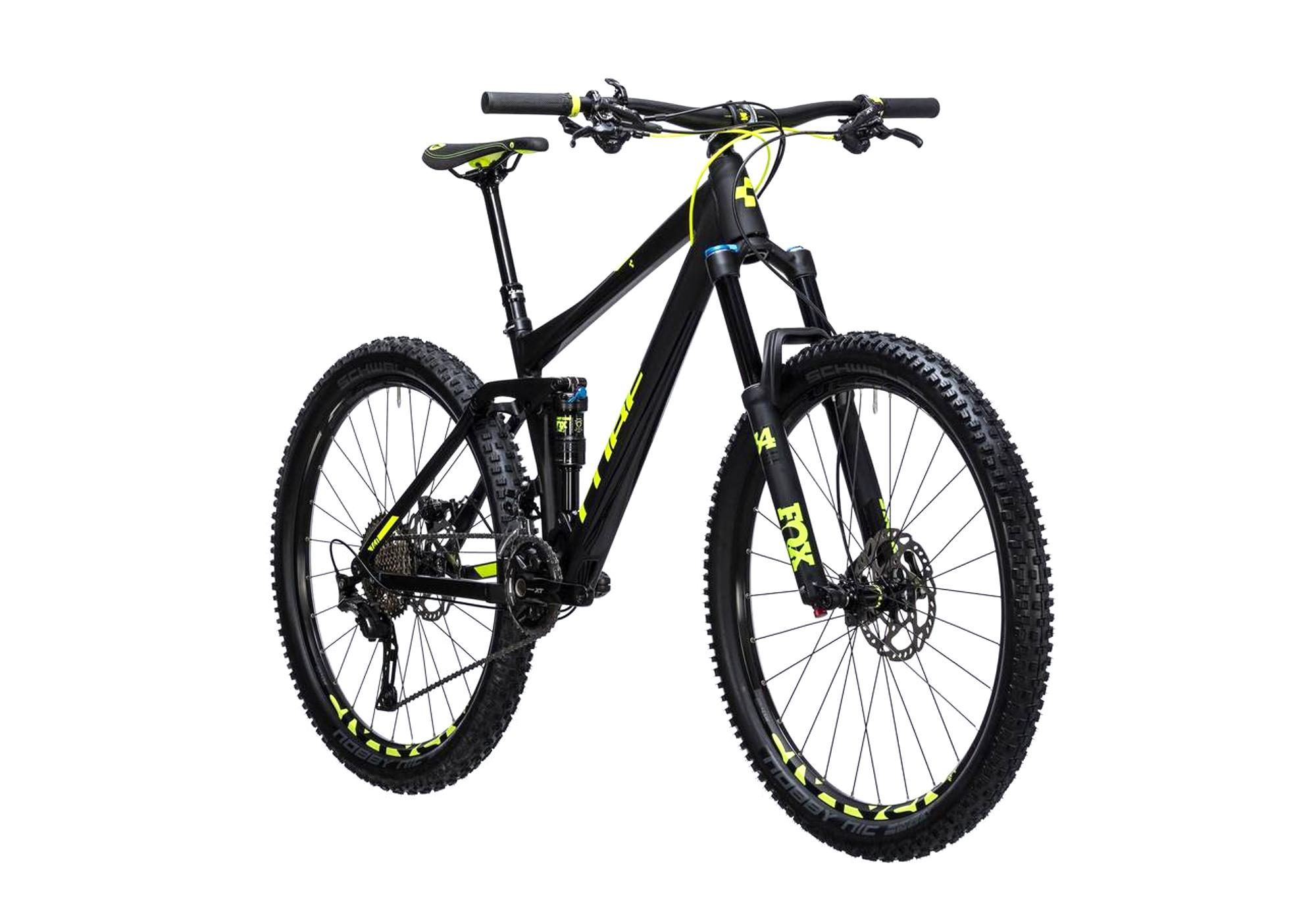 Cube Stereo 140 Hpa Race Bike 27 5 Shimano Xt 11s Black Yellow