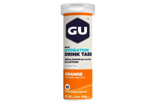 Gu Energy Drink Tabs Orange X12
