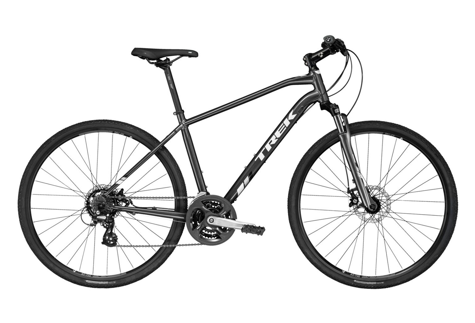 Trek DS 1 Urban Bike Shimano Altus 7s Grey 2017