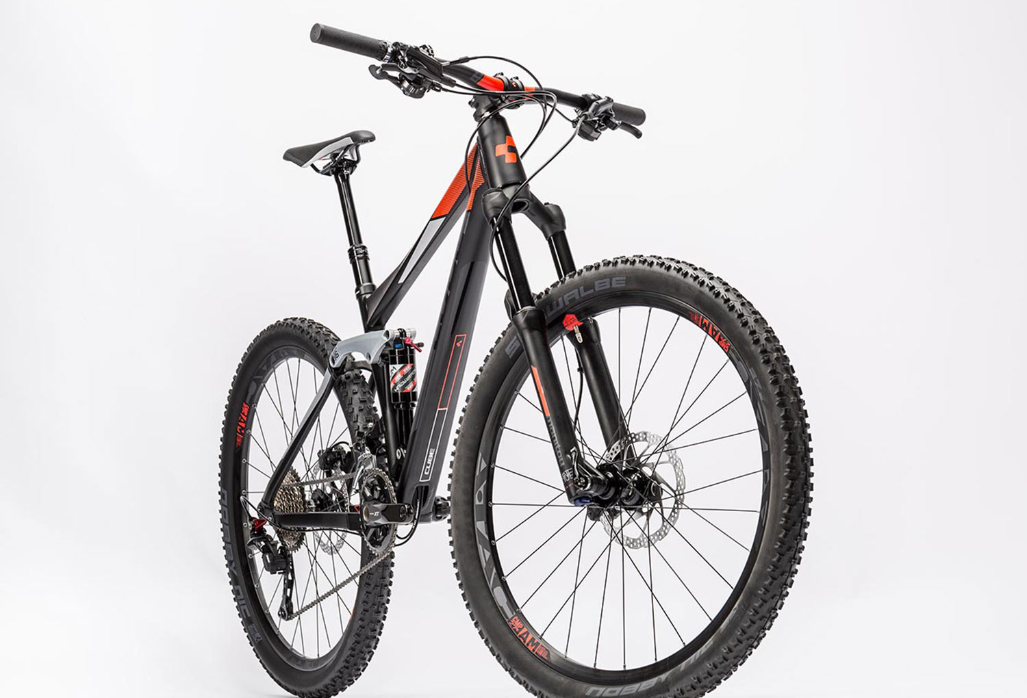 Cube Bike 27 5 Stereo 140 Hpa Pro Shimano Xt 11s Black Red