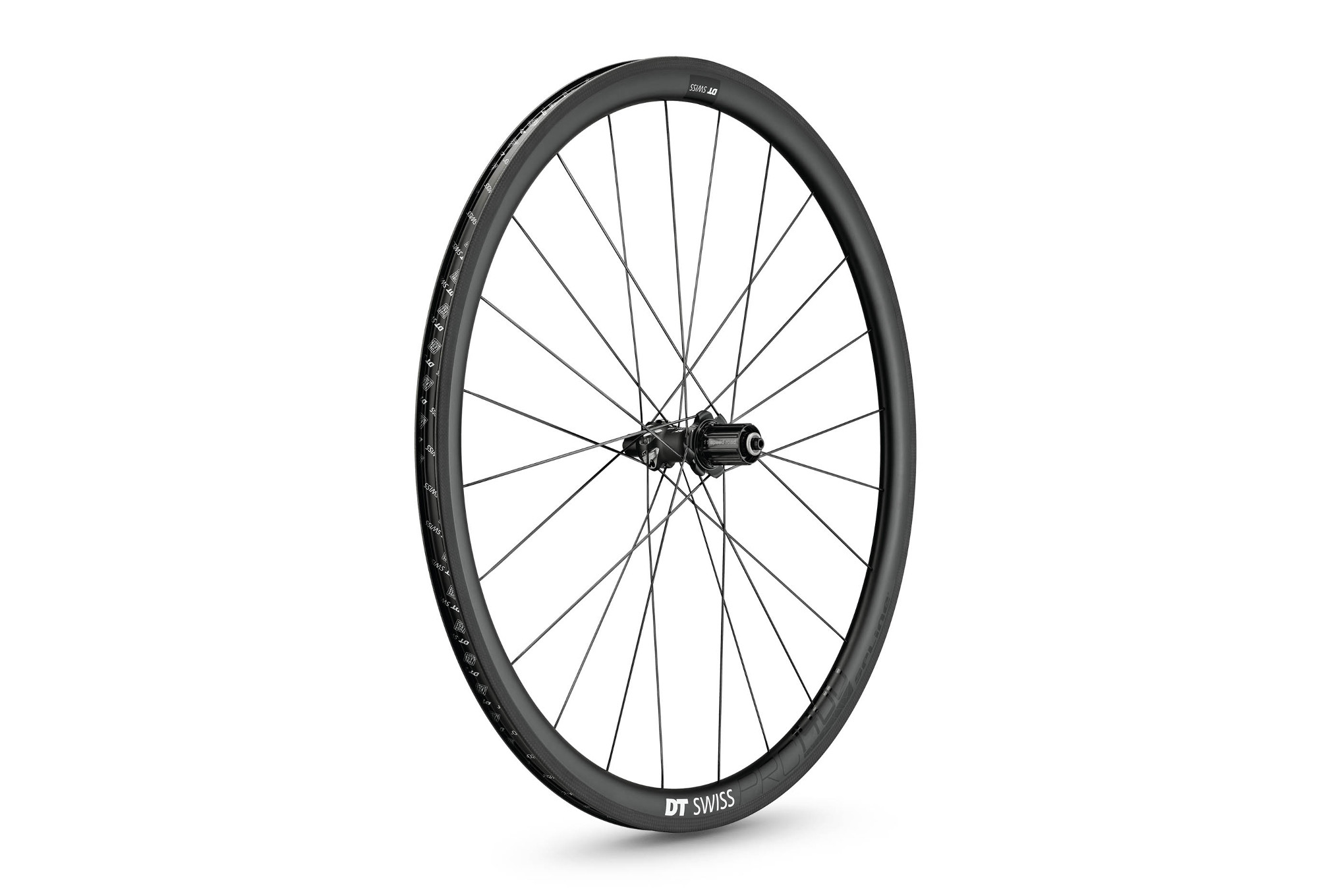 Rear Wheel DT SWISS 2018 PRC 1400 SPLINE Carbon 35mm