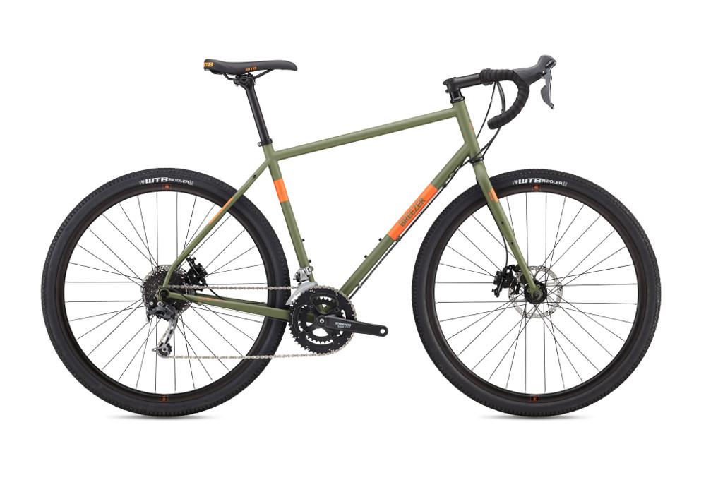 Breezer Radar Expert Gravel Bike Shimano Deore 9s Green