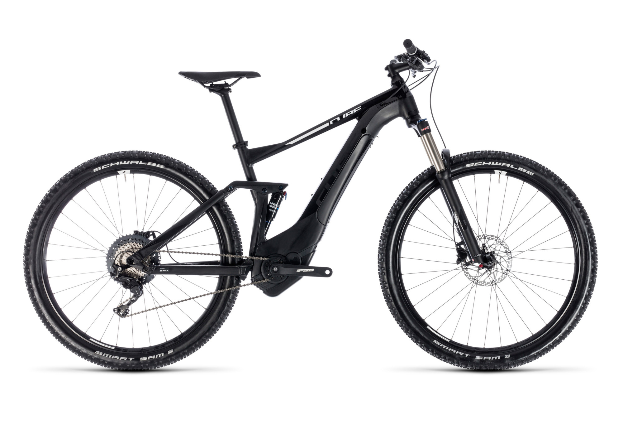 Full Suspension E Mtb Cube Stereo Hybrid 120 Pro 500 29 Shimano 11s Black White