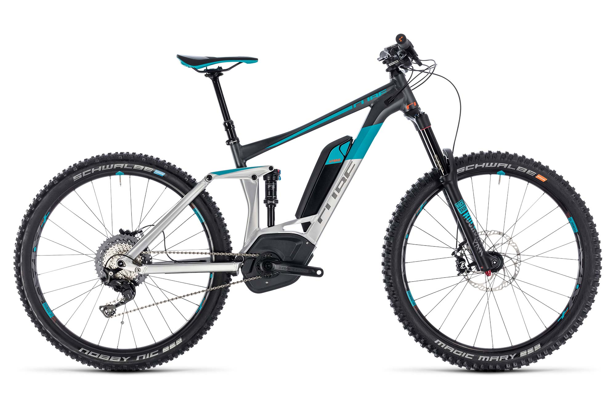 Electric Full Suspension Cube Stereo Hybrid 160 Race 500