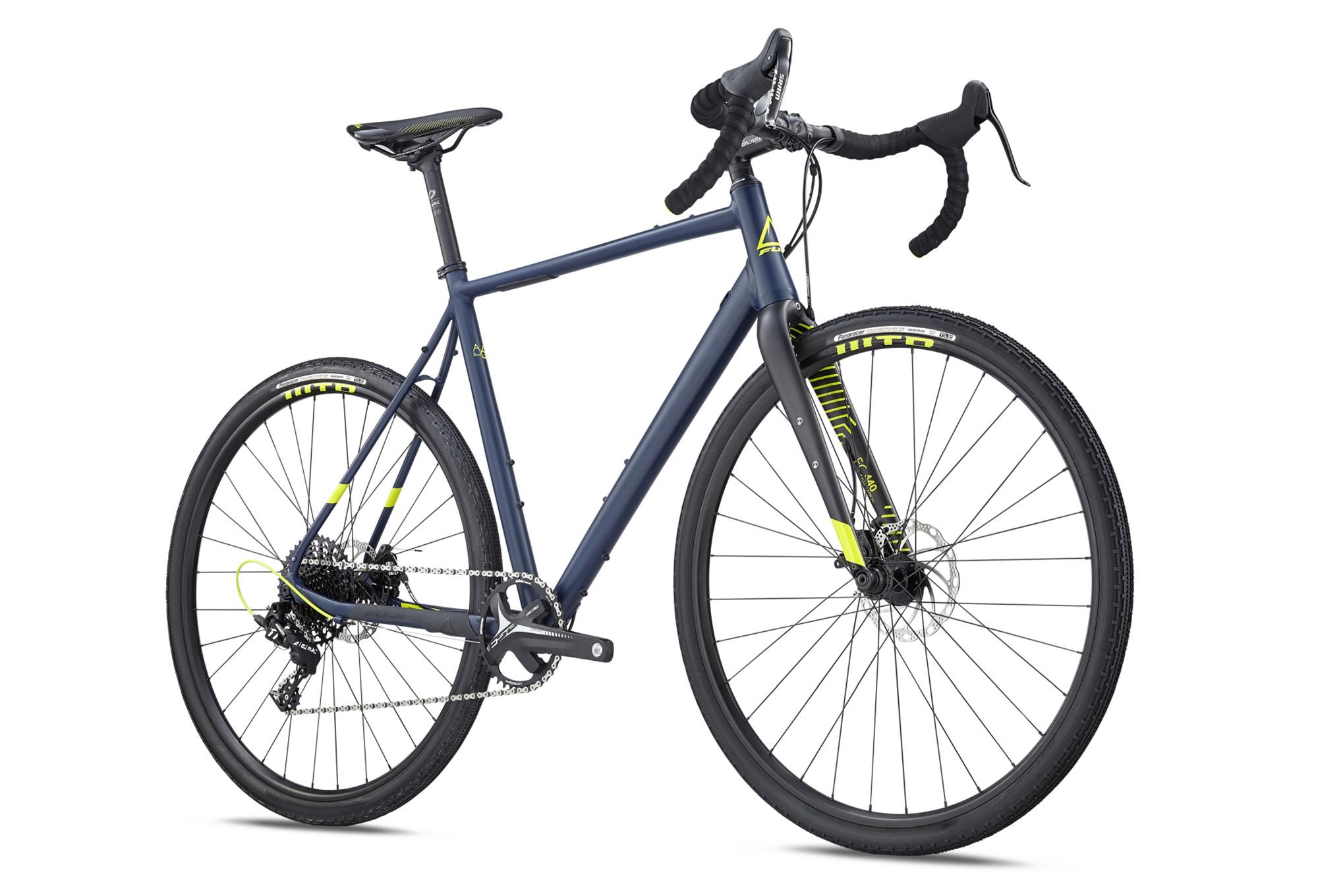Fuji Jari 1.3 Gravel Bike Sram Apex 11S 2019 Satin Navy