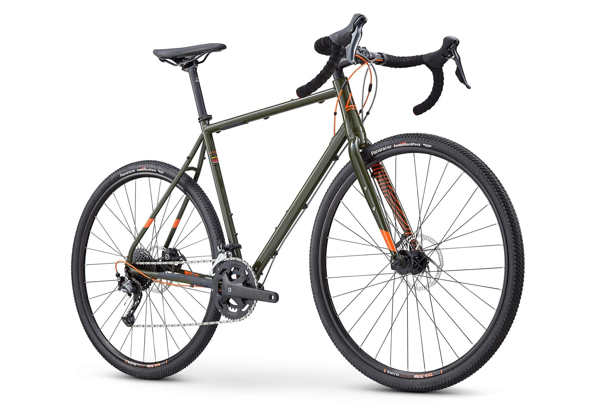 Fuji Jari Steel 2.3 Gravel Bike Shimano Sora 9S 2019 Khaki