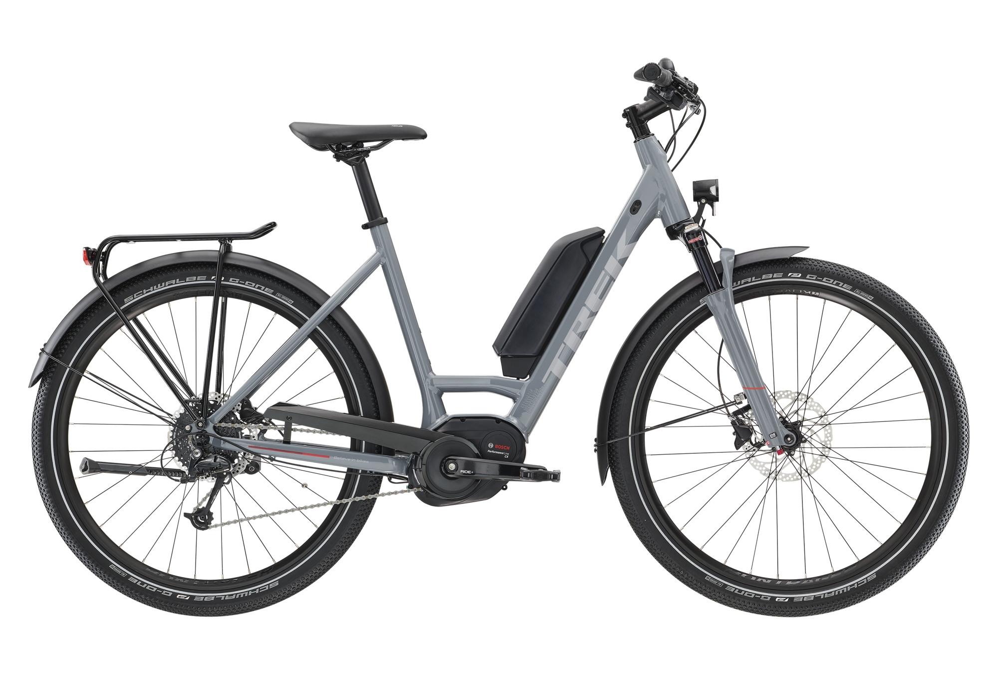 Trek UM5+ Lowstep 400Wh Women Hybrid Urban 2019 Bike