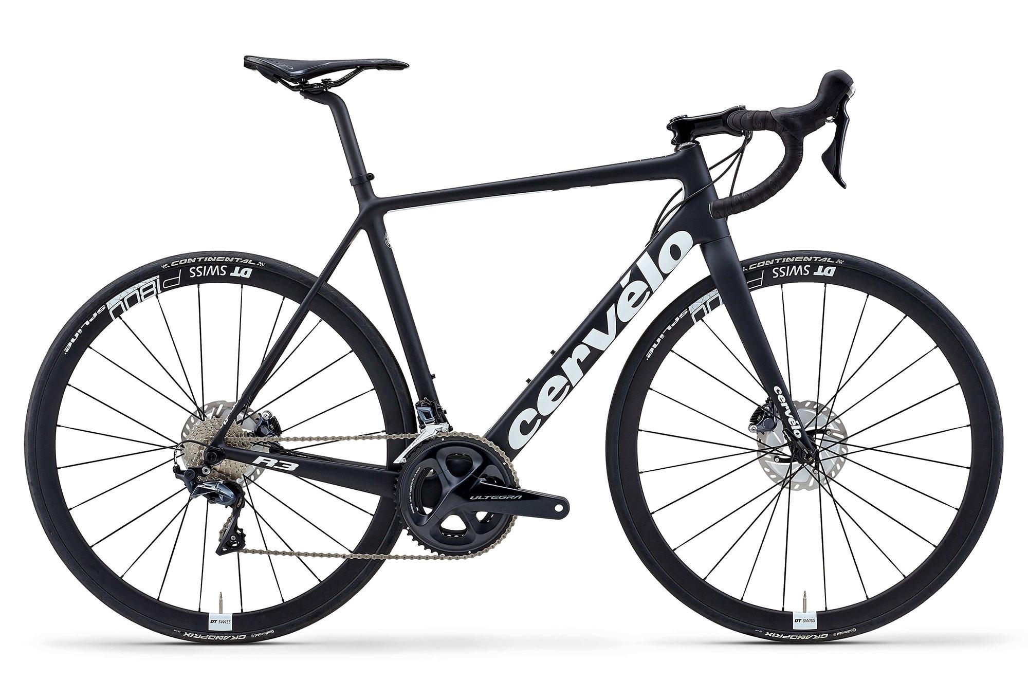 Cervélo R3 Disc Road Bike Shimano Ultegra 8020 11S Black