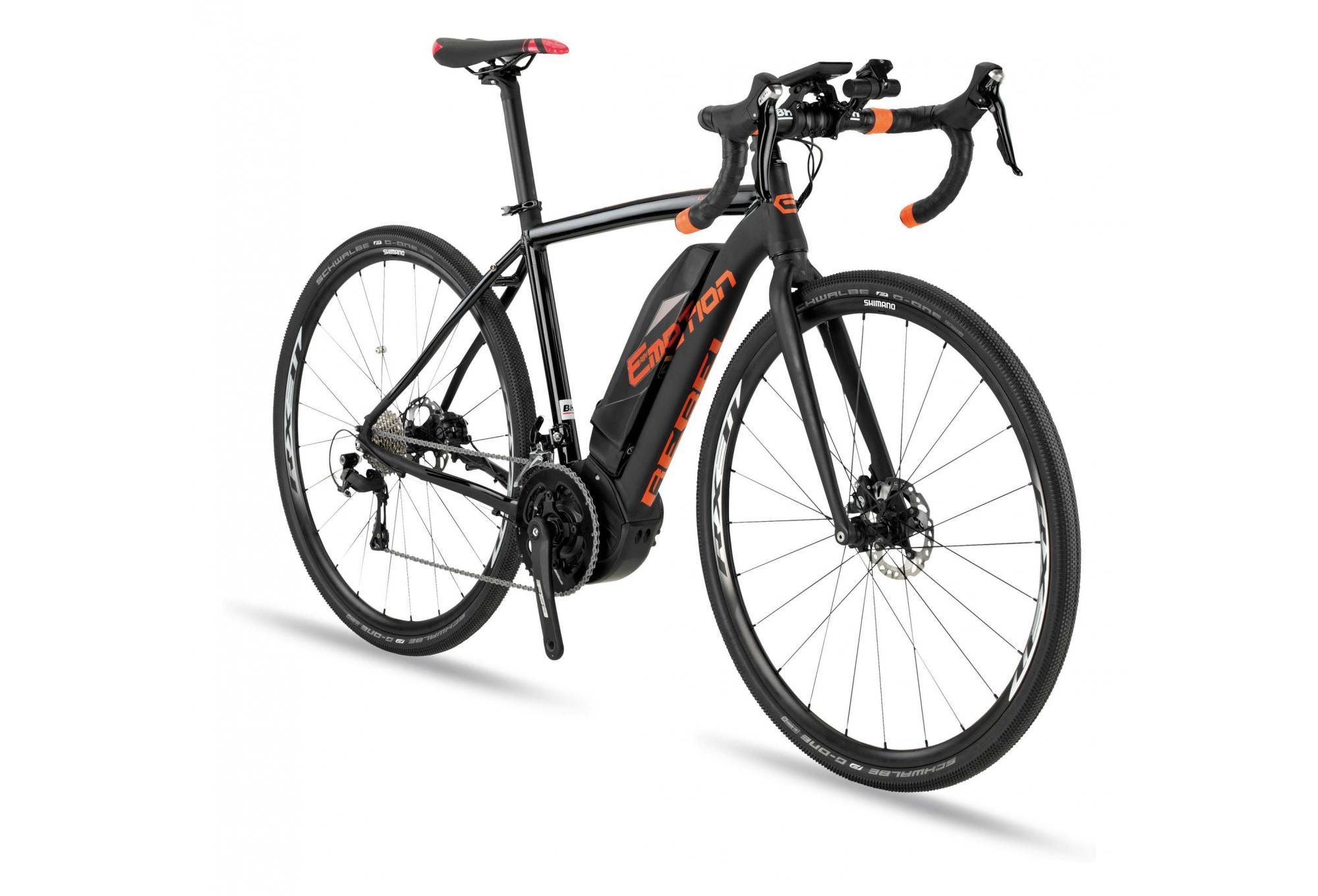 BH Rebel GravelX Gravel Bike Shimano 105 11s Black