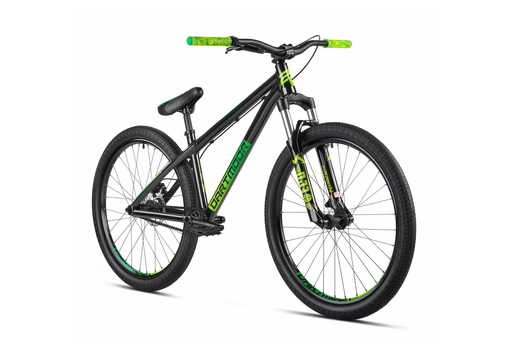 Dartmoor Gamer 26 Dirt Bike 26'' Black Forest Green
