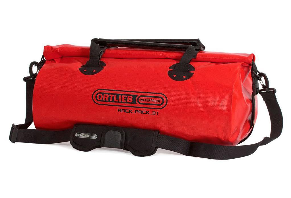 ortlieb rack pack 31l travel bag red