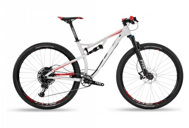 BH Full Suspension MTB Lynx Race 4.9 GX Eagle 12V Grey Red