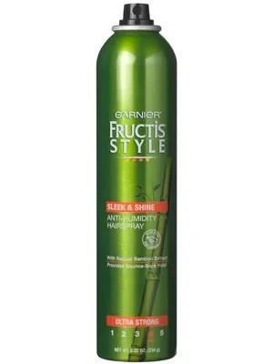 Garnier Fructis Style Sleek  Shine AntiHumidity Hairspray Review  Allure