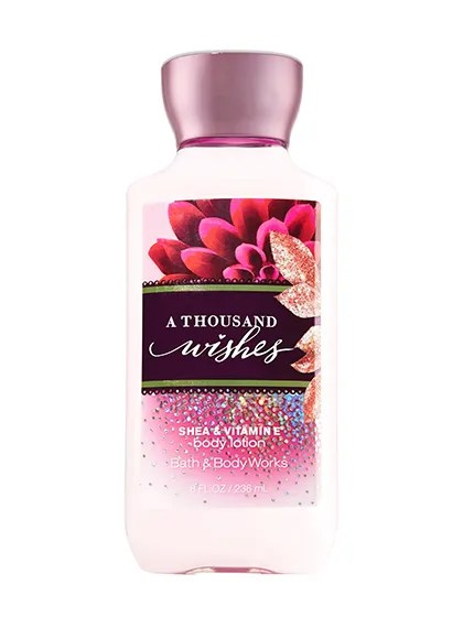 Bath Amp Body Works A Thousand Wishes Body Lotion Review Allure