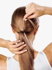 professional ponytails