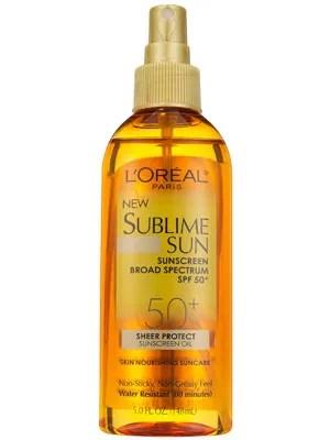 LOral Paris Sublime Sun Sheer Protect Sunscreen Oil SPF