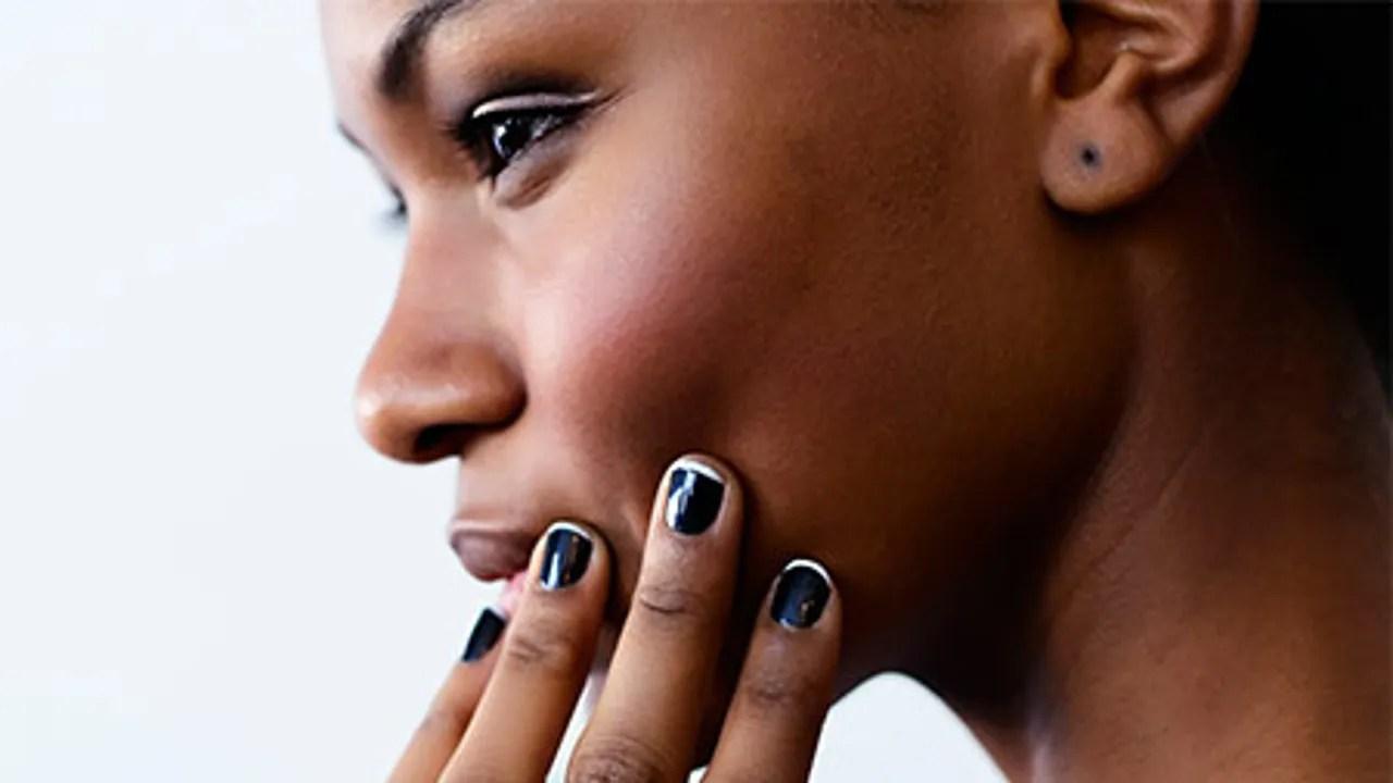 black nail polishes