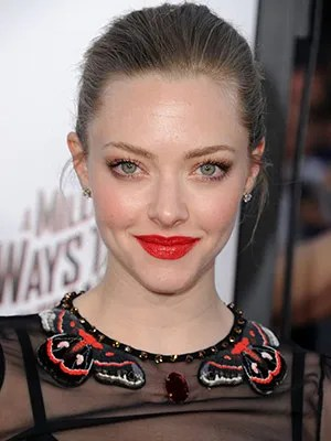 Amanda Seyfried on Red Lipstick Cheap Massages and the Gift Shes Getting From Riccardo Tisci