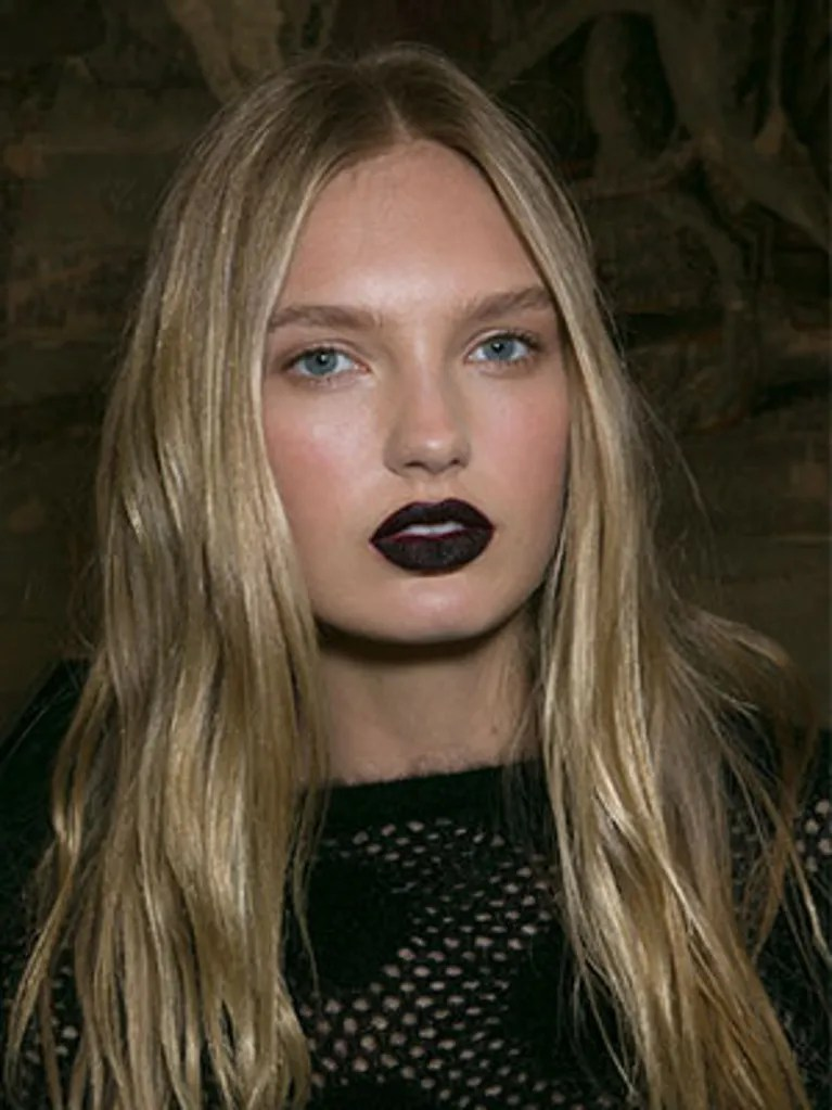 Black Lipstick Not Just For Goths Anymore Allure