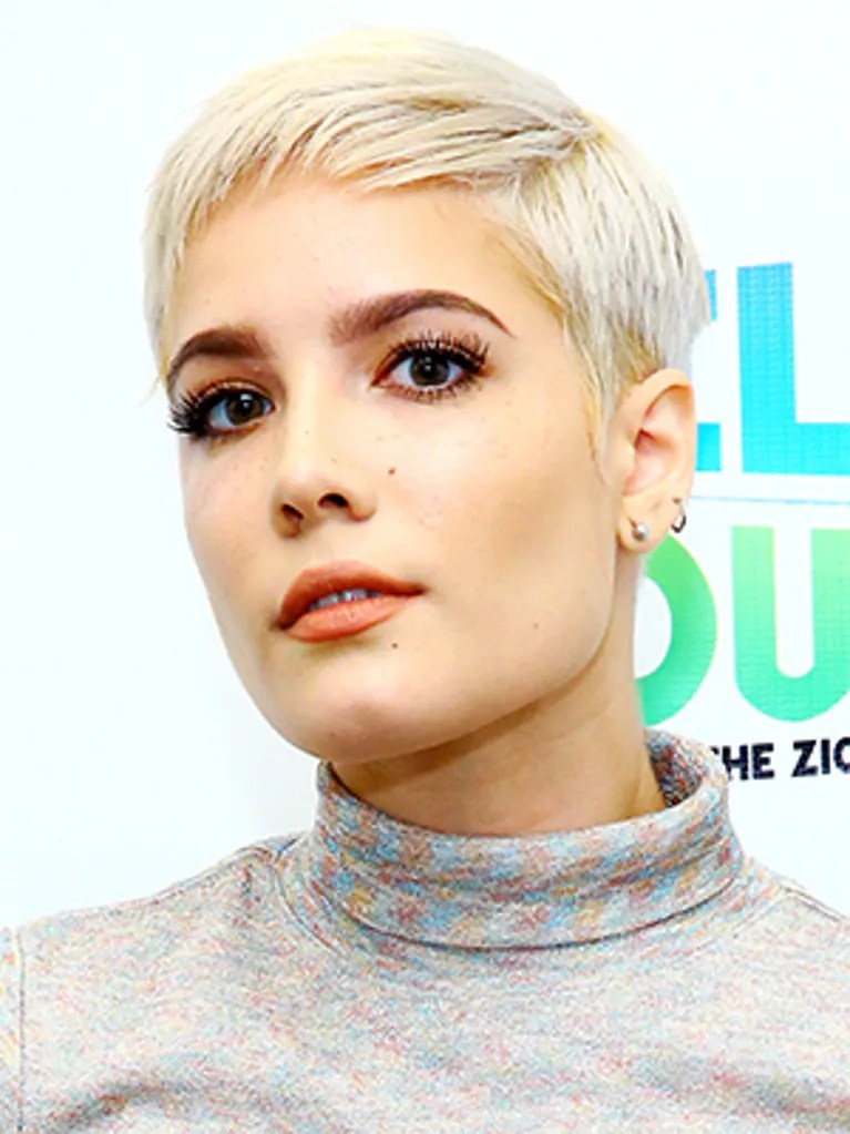 Singer Halsey Wont Be Defined By Her Hair Shaves It All