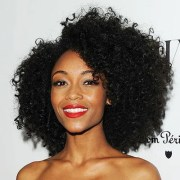 style tight and kinky curls