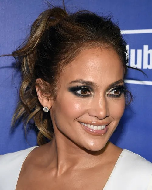 Jennifer Lopez Smoky Eye Allure