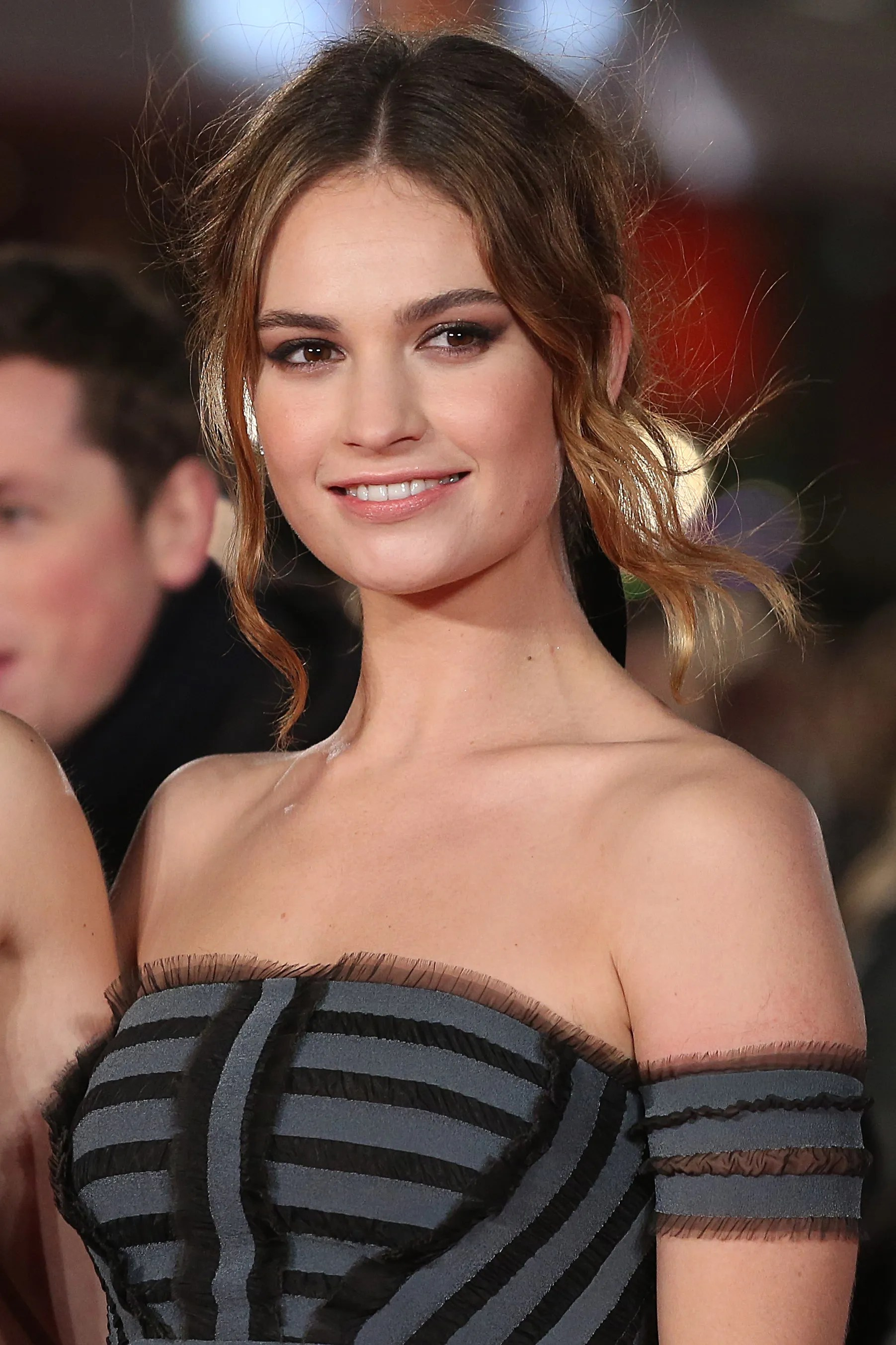 Lily James Shares Her Beauty Secrets Allure