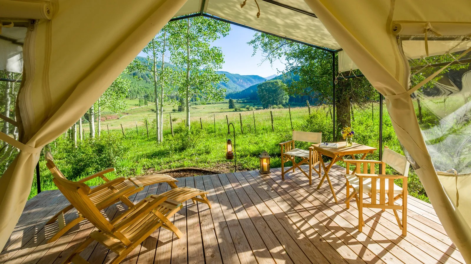 7 Glamping Spots Fall Allure