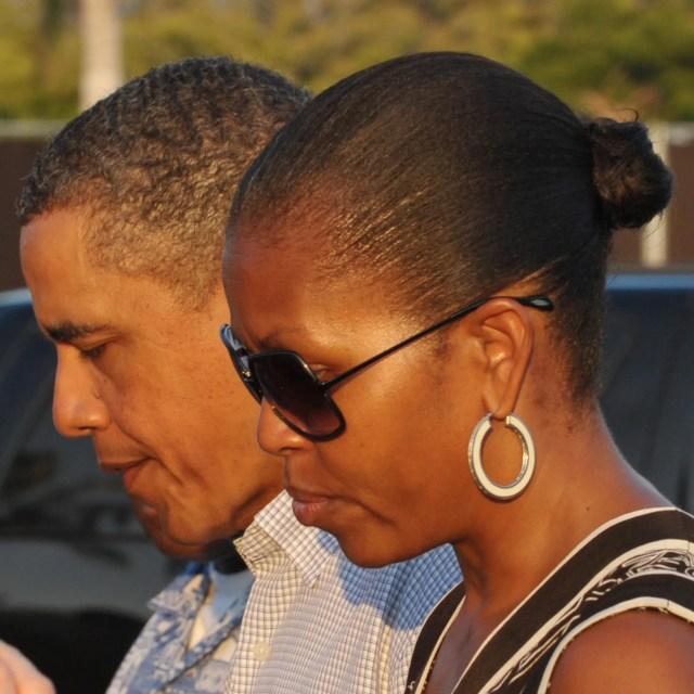 the hair evolution of michelle obama | allure