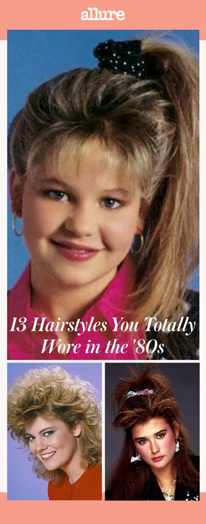 13 hairstyles you totally wore in the '80s   allure