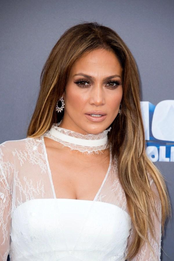 "Jennifer Lopez Braid Giving ""jenny Block"