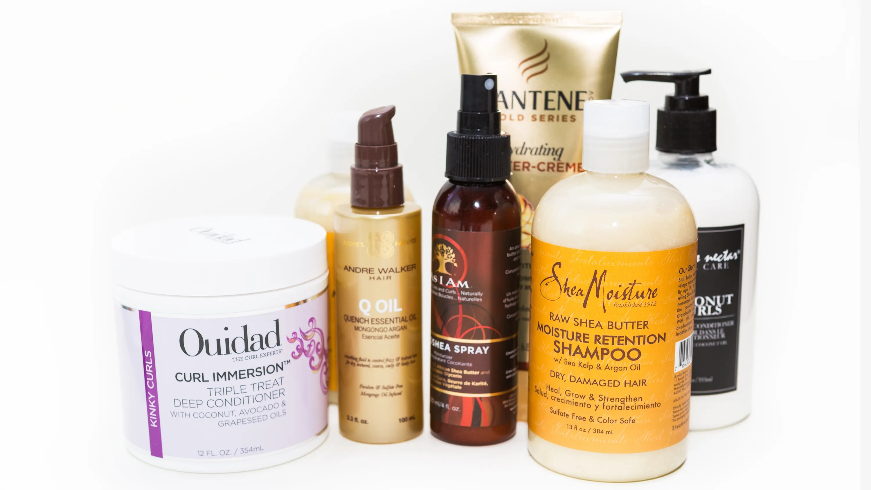hair-care products curls