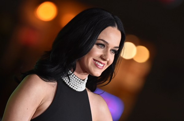 Katy Perry Platinum Hair Big Allure