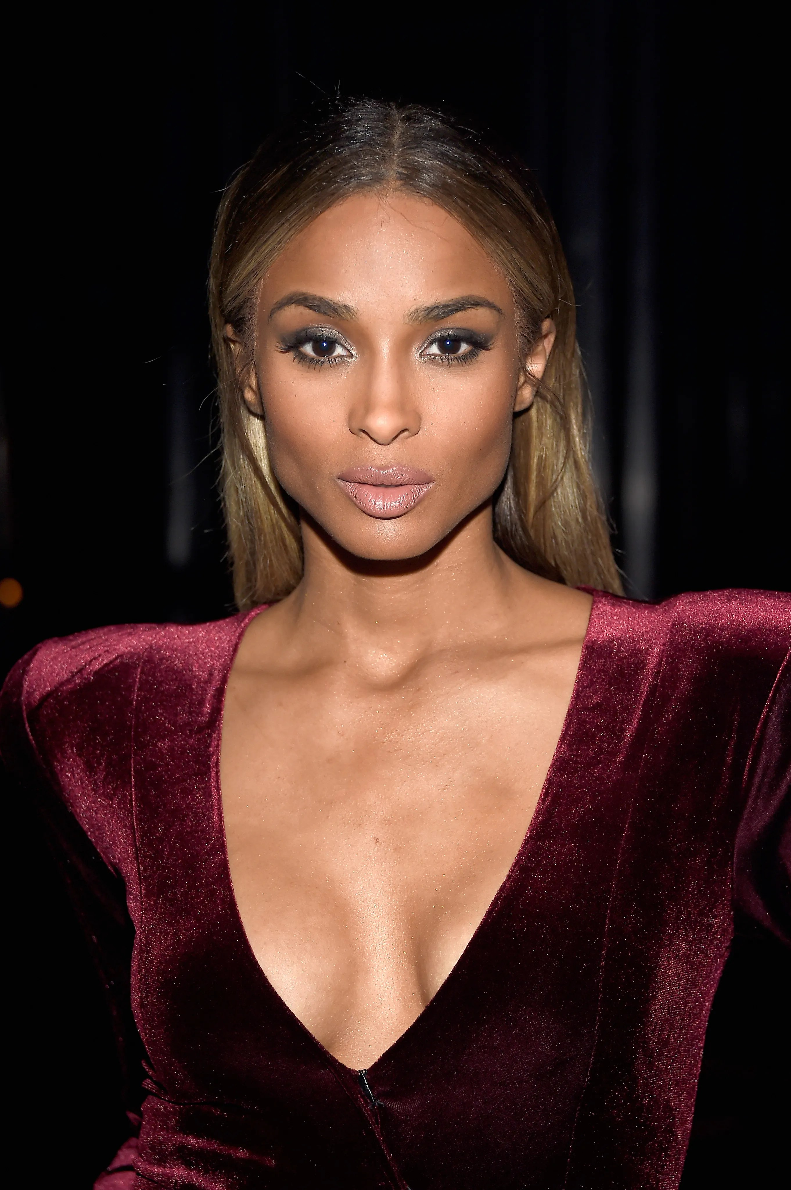 A Ciara NoMakeup Moment Just Happened on the Red Carpet  Allure
