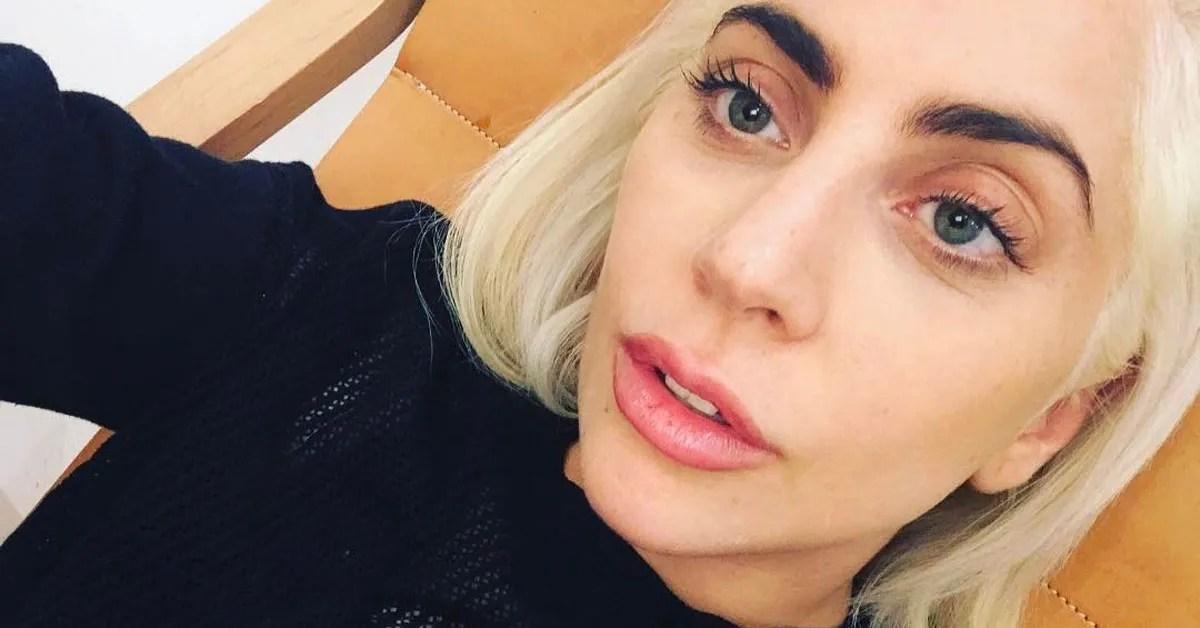 Lady Gaga Debuts Dark Brown Hair For Her Birthday Allure