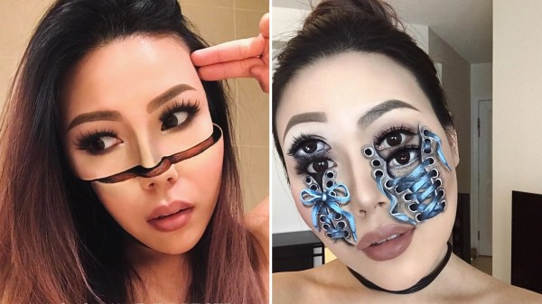 Optical Illusion Makeup Artist