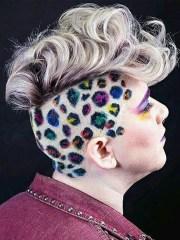cheetah print hair dye