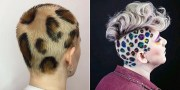 leopard print hair newest