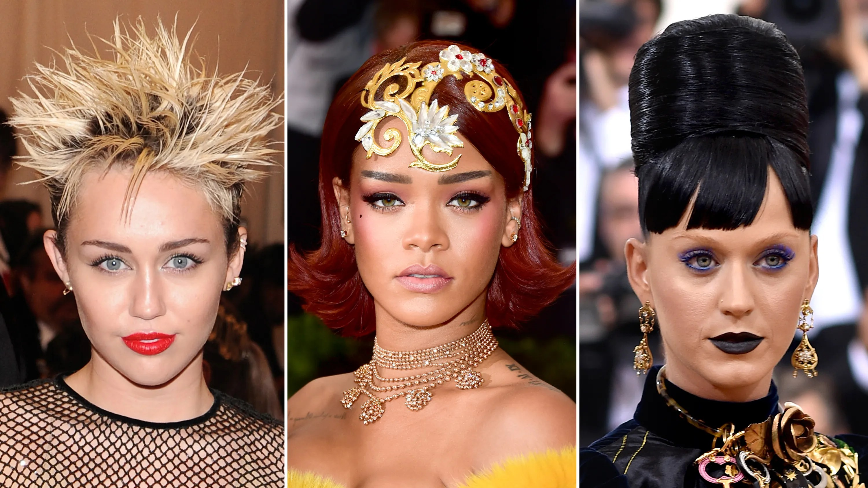 met gala hair of