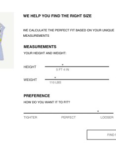 Courtesy of zara has  new sizing tool for online shopping also allure rh