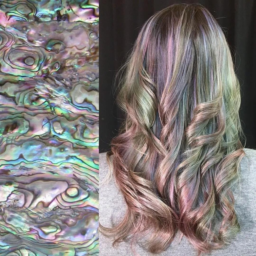 mother-of-pearl hair instagram's