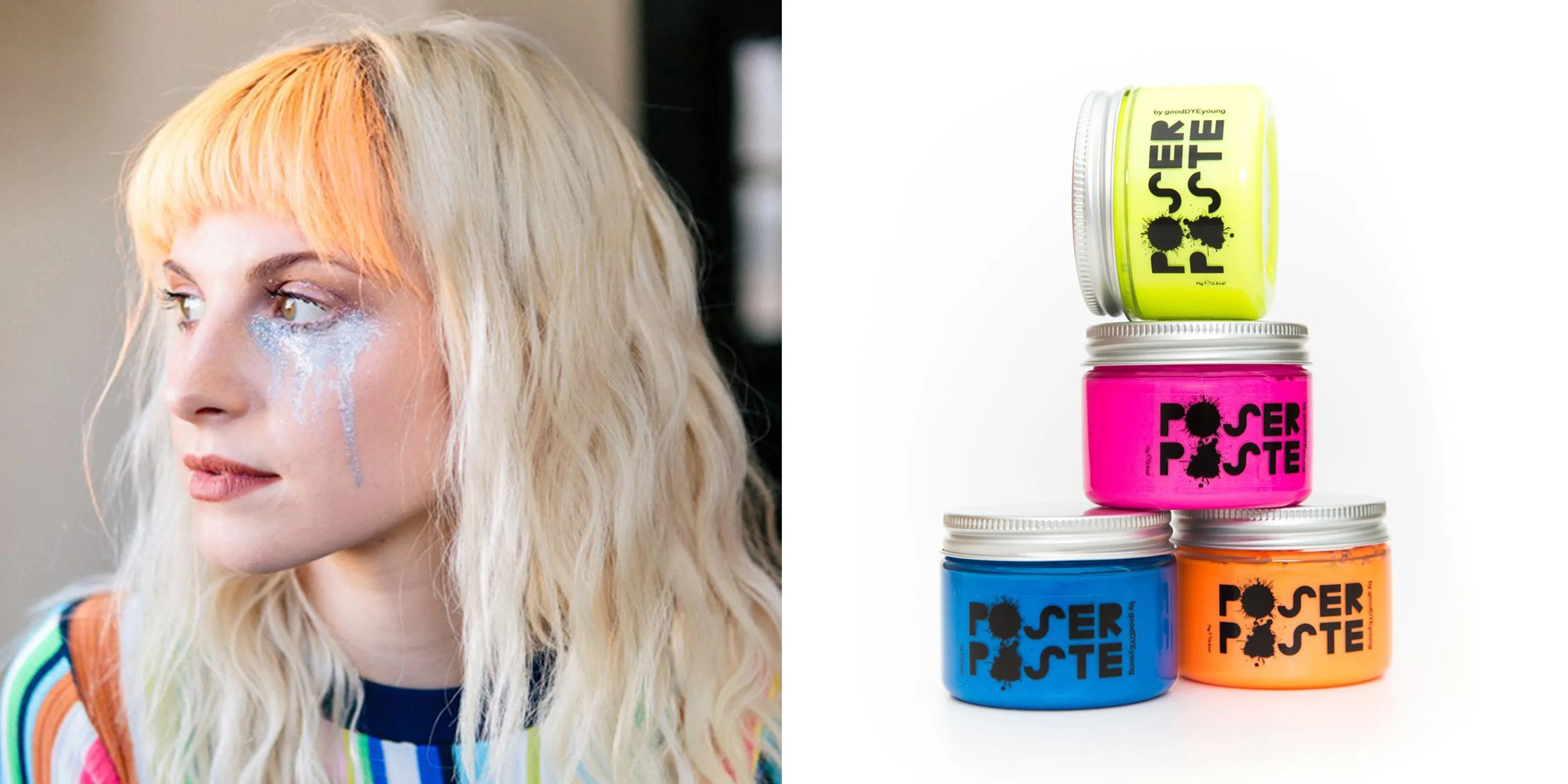 GoodDyeYoung Poser Paste Lets You Change Your Hair Color