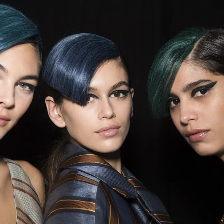 How To Dye Brown Hair Rainbow Colors Without Bleaching It