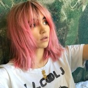 hair color pink fashion