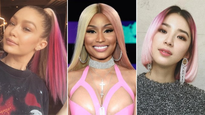 29 pink hair color ideas, from pastel to rose gold | allure