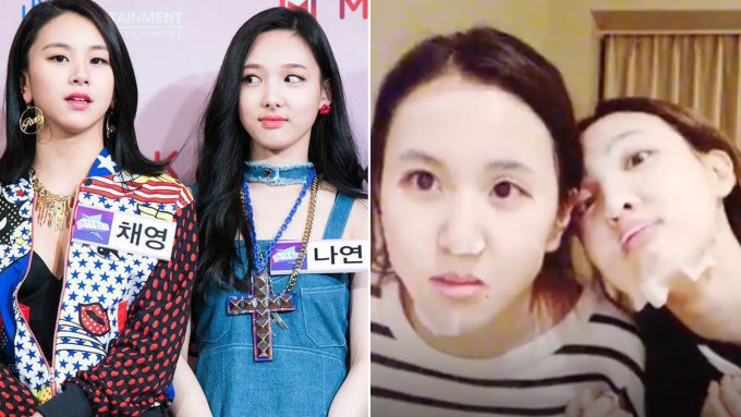 k-pop group twice reveals skin-care routines on v live | allure