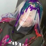 drip hair color viral
